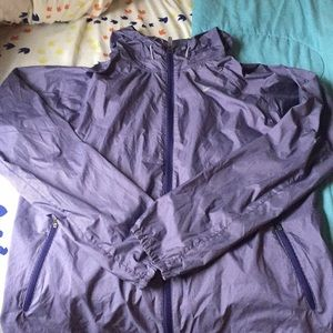Nike purple/white wind jacket